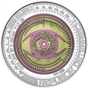 25 Euro Silber/Niob Gedenkmünze