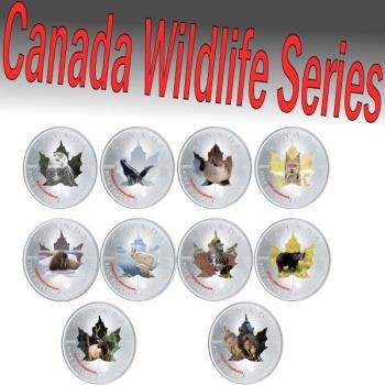 Canada Wildlife Serie II 2015