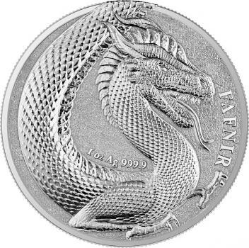 Germania Beasts Fafnir 1 oz Silver BU 2020 Silber