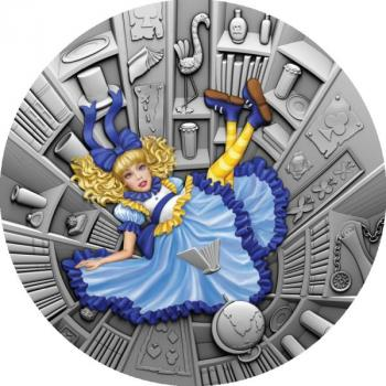 Niue Islands - Blue Fairy Tale - Märchen (1) - 1 Oz Silber High Relief Antique Finish 2021 Silver