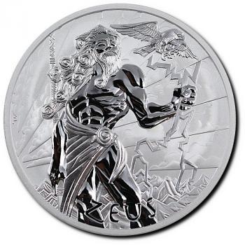 Tuvalu - Zeus - Gods of Olymp (1) 2020 1Oz Silber