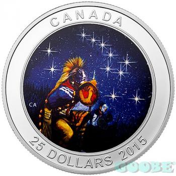 "Kanada 25 Dollar  The Quest - Serie - ""Glow in the Dark"" 2015"