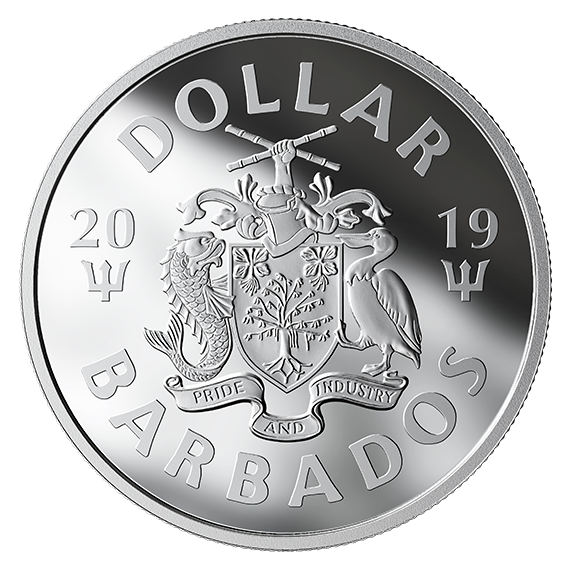 Barbados 2019 Silver PP Batman